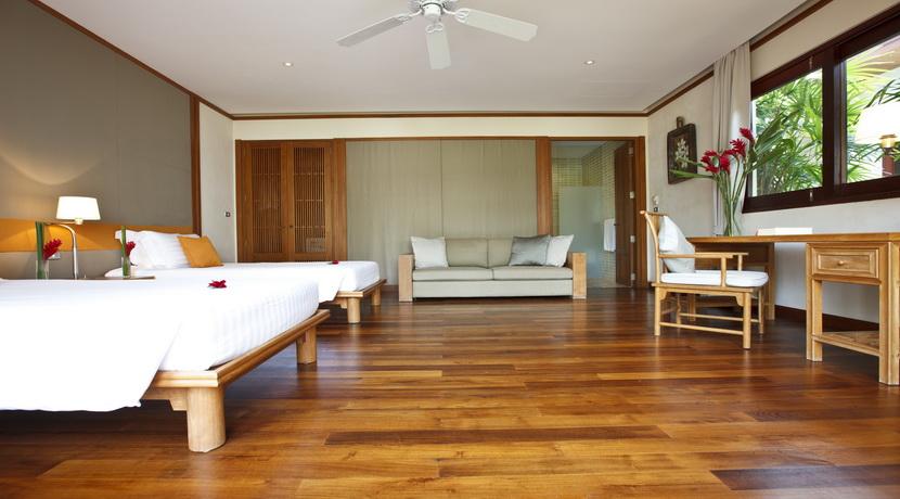 Villa plage Maenam chambre twin (4)_resize