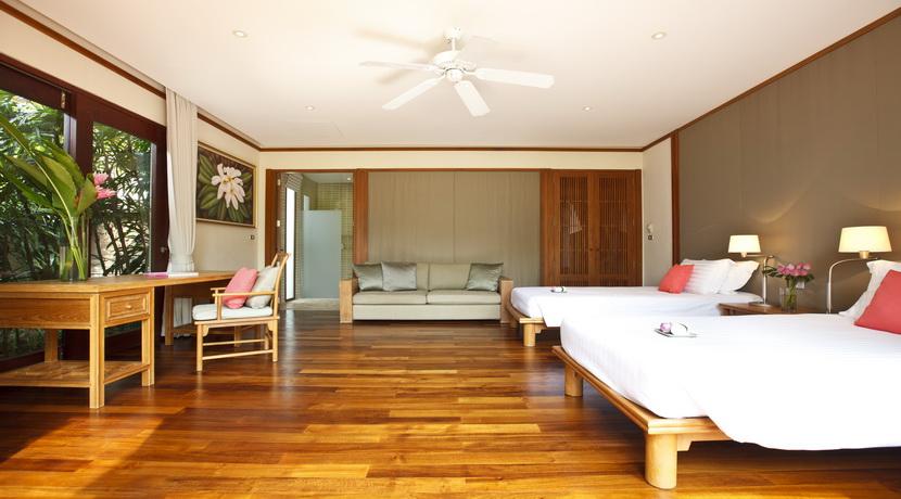 Villa plage Maenam chambre twin_resize