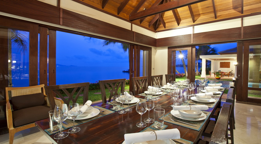 Villa plage Maenam salle a manger (3)_resize