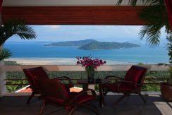 Villa vacances Taling Ngam Balcon_resize