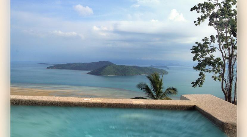 Villa vacances Taling Ngam Koh Samui vue mer_resize