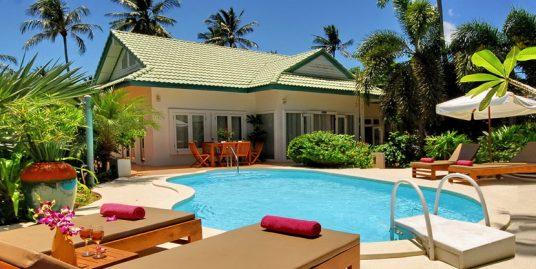 Laem Set villa Orchid location 2 chambres piscine bar plage