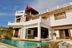 location villa Bangrak Koh Samui villa piscine