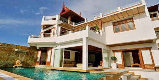 Location villa Bangrak 12 personnes piscine privée vue mer
