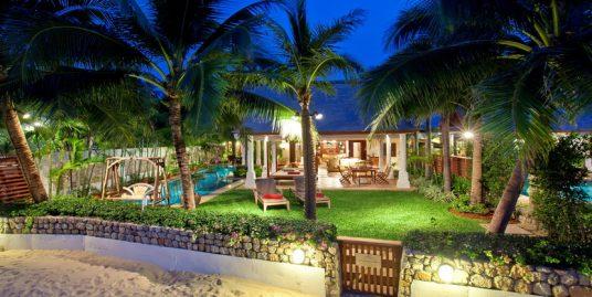 Maenam beach villa 2/4 chambres piscine en bord de mer