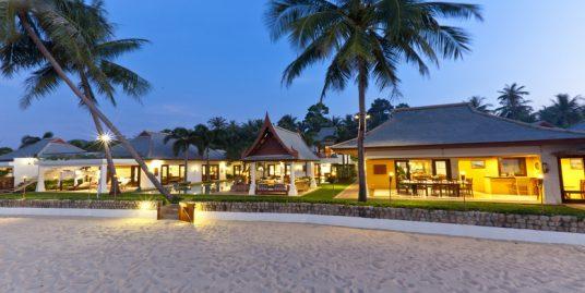Maenam villa 4/6 chambres piscine privée bord de plage