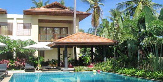 Maison vacances Koh Samui 2/3 chambres jacuzzi piscine
