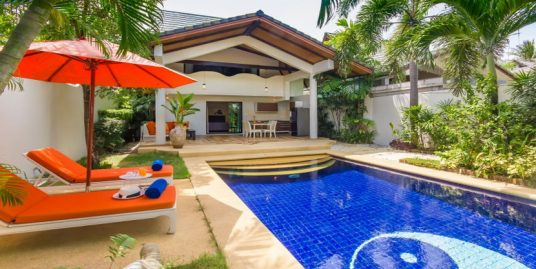 A louer Koh Samui Ban Tai villa 2 chambres piscine plage