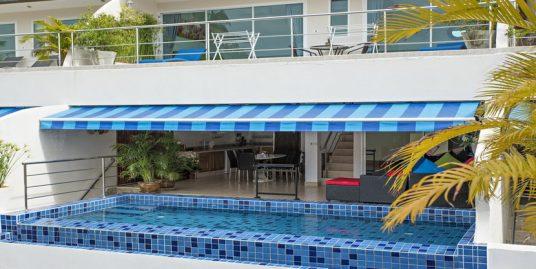 A louer appartement Koh Samui Bang Por Duplex 3 chambres