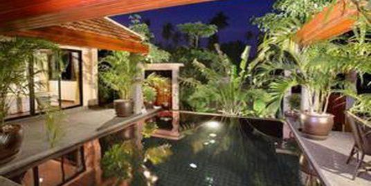 A louer villa Bang Kao Koh Samui 3 chambres piscine plage