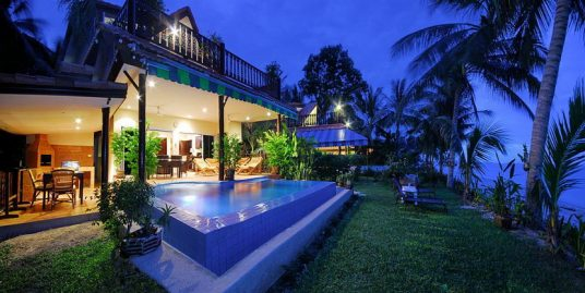 A louer villa Bang Por Koh Samui 3 chambres piscine plage