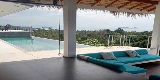 A louer villa Hin Kong Koh Phangan 4 chambres