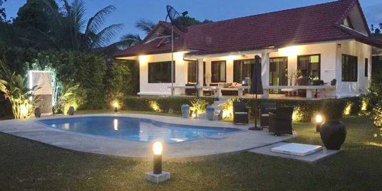 A louer villa Koh Samui Bangrak 2 chambres piscine plage