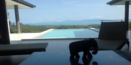 A louer villa Koh Samui Bophut 3 chambres piscine vue mer