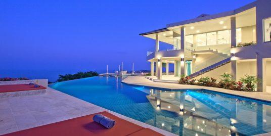 A louer villa Koh Samui Choeng Mon 6 chambres