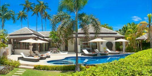 A louer villa Koh Samui Plai Laem 3 chambres
