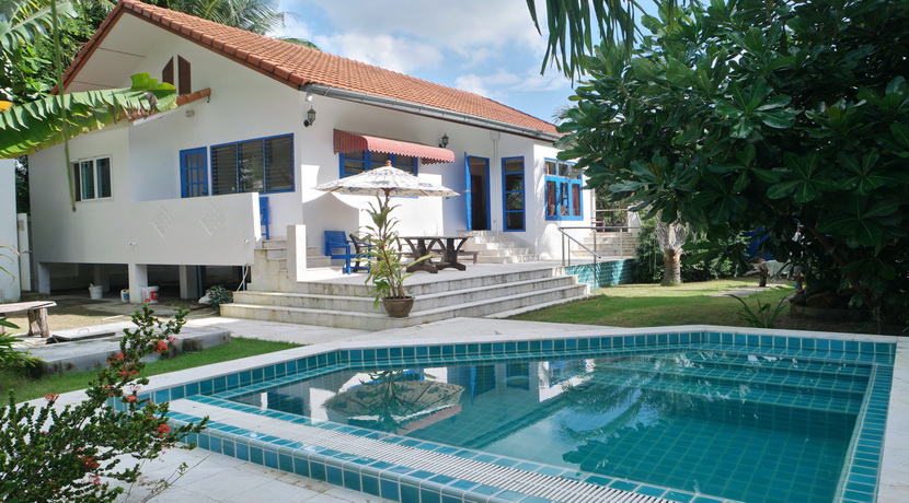 A louer villa Maenam Koh Samui