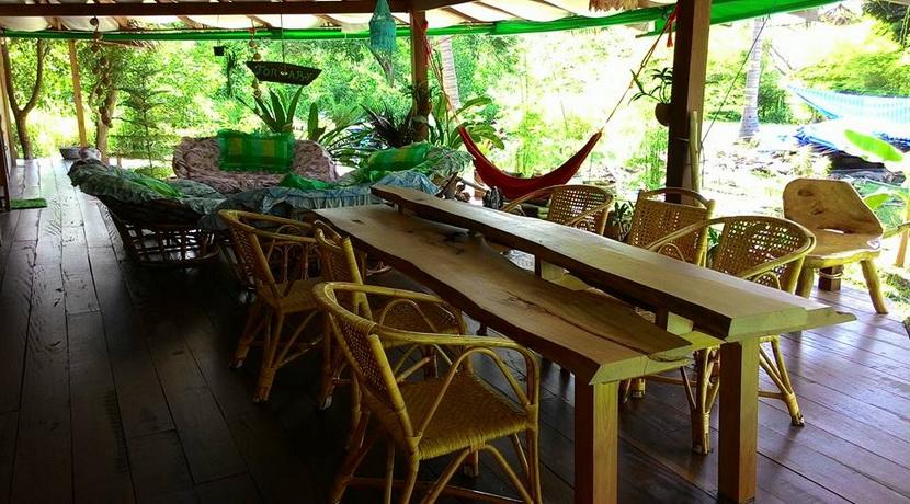 A louer villa Thong Sala Koh Phangan terrasse (2)_resize