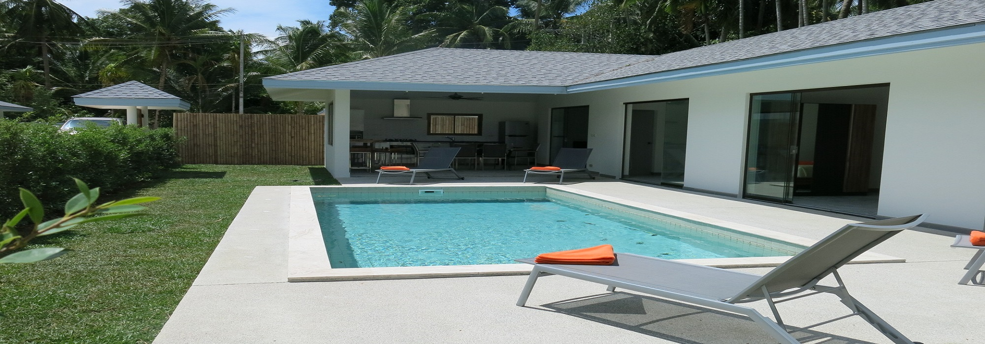 For rent villas Maenam 2 to 9 bedrooms swimming pool 1km beach
