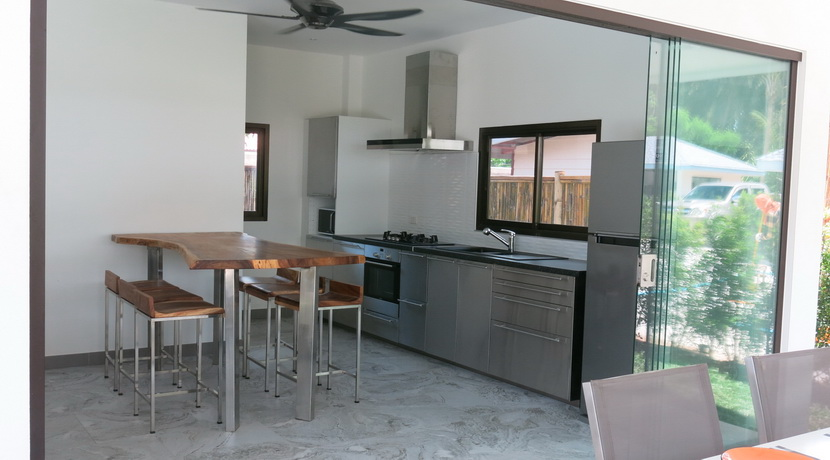 A louer villas Maenam Koh Samui sala cuisine_resize