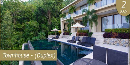 A vendre maison duplex Chaweng 2 chambres piscine