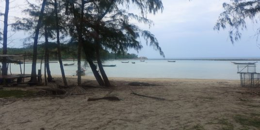 A vendre terrain Chaloklum Koh Phangan 2 rai plat bord de mer