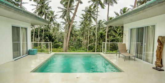 A vendre villa Lamai 2 chambres + studio piscine vue jungle