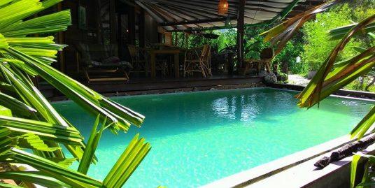 A vendre villa Thong Sala 3 chambres piscine à 5 min de la plage