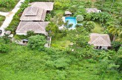 A vendre villa balinaise Lamai