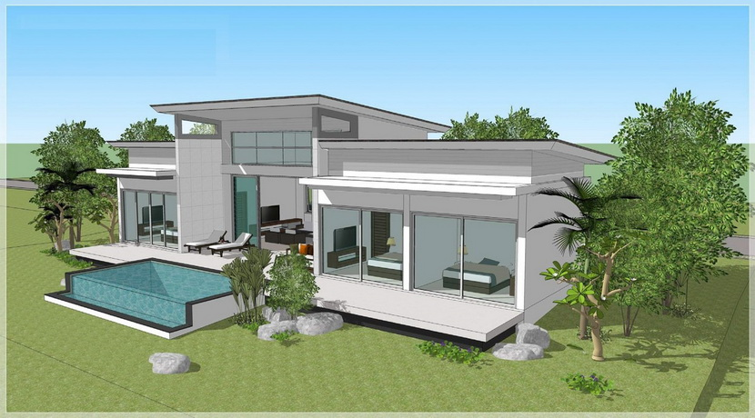 A vendre villa sur plan Chaweng Koh Samui (2)_resize