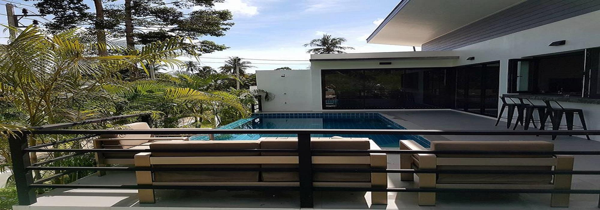 A vendre villas Lamai Koh Samui 2 chambres