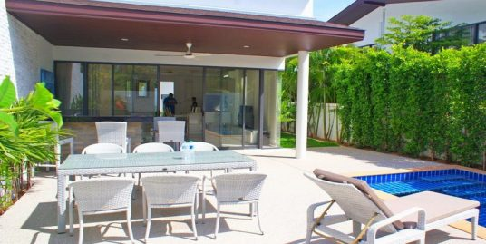 Choeng Mon location villa 3 chambres bar piscine privée