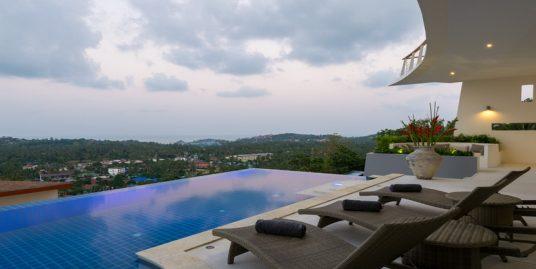 Location vacances Koh Samui villa 4 chambres piscine