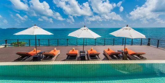 Location Chaweng Noi villa 3/4/5 chambres piscine bord de mer