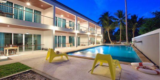 Location Koh Samui Ban Tai studio piscine jardin plage