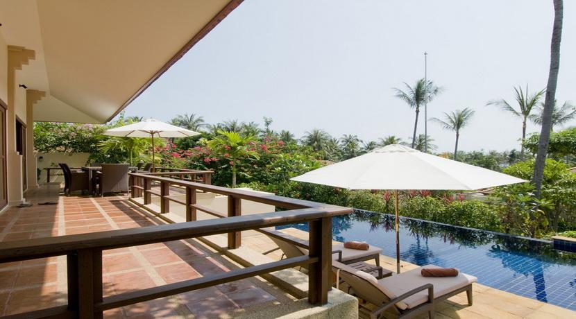 Location vacances Choeng Mon Koh Samui villa