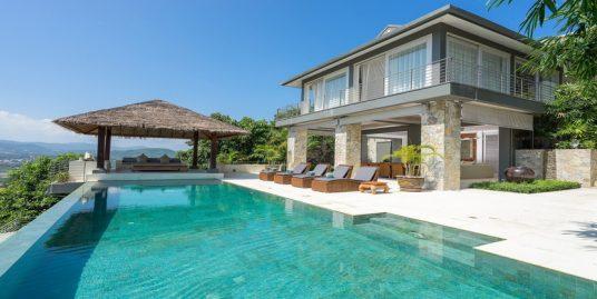 Location villa 6 chambres Chaweng Beach piscine vue mer