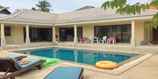 Location villa Bangrak Koh Samui 2 chambres piscine jardin
