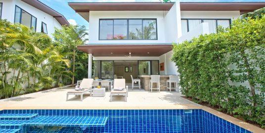 Location villa Choeng Mon Samui 3 chambres piscine privée