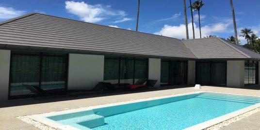 Location villa Lamai 3 chambres piscine privée jardin