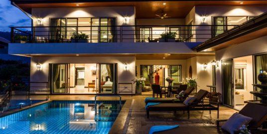 Location villa Samui Sunrise Chaweng 2/4 chambres piscine
