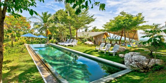 Location villa Taling Ngam Koh Samui 5 chambres piscine vue mer