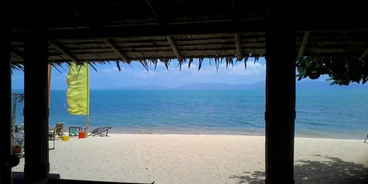 Location villa sur plage Mae Nam 2 chambres terrasse