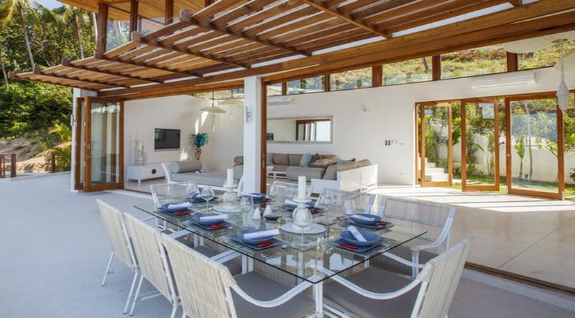 Location villa vacances Koh Samui salle a manger (3)_resize