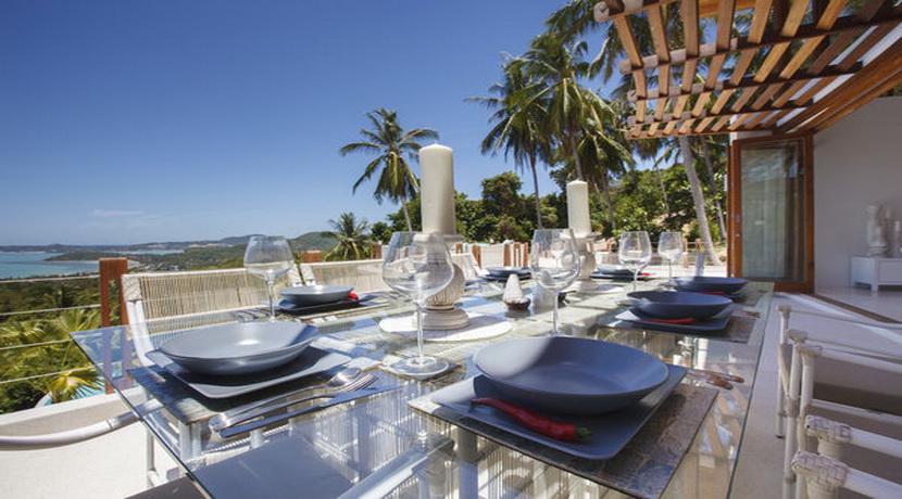 Location villa vacances Koh Samui salle a manger_resize
