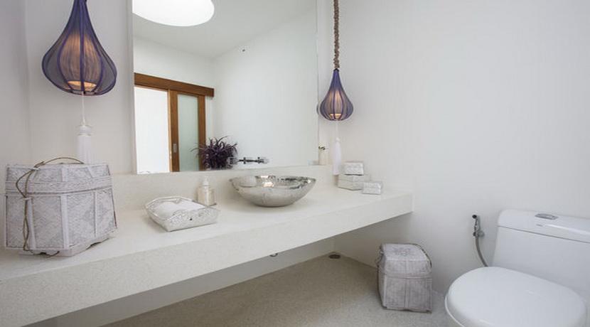 Location villa vacances Koh Samui toilette invité_resize