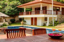 Location villa voyage de noces Koh Samui 2-4 chambres piscine - Villa Sapparos