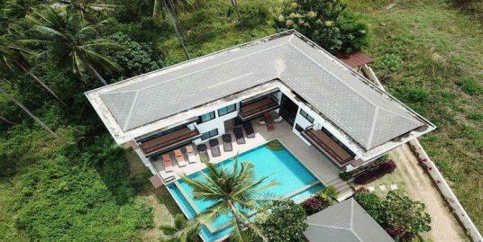 Vente Bophut villa 6 chambres piscine jardin vue mer
