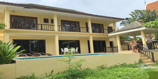 Villa à louer Bangrak Koh Samui 3 chambres piscine sala