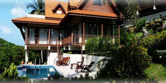 Villa Haad Salad Koh Phangan à vendre 3 chambres piscine